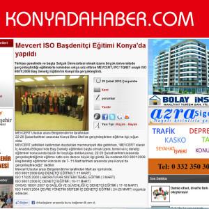 Konyada Haber